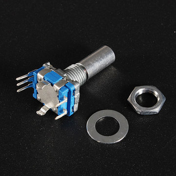 15mm Rotary Encoder Switch with Key Switch with 2 Bit Gray Scale Micro Switch